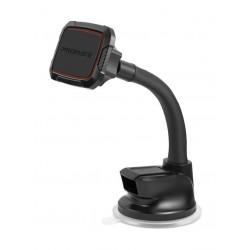 Promate MagMount-6 Anti-Slip Cradle Free Magnetic Car Mount - Maroon