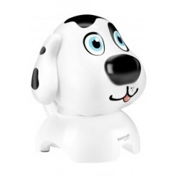 Promate Mini High-Definition Wireless Dog Speaker (Snowy) - White