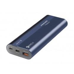 Promate Powertank-20 20,000mAh 3.0 Ultra-Fast Charging Power Bank - Blue