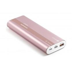 Promate Powertank-20 20,000mAh 3.0 Ultra-Fast Charging Power Bank - Rosegold