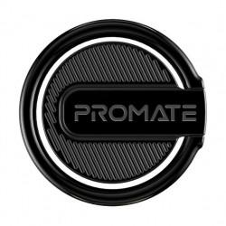 Promate RinGrip-1 Multi-Function Kickstand Ring Mount - Black