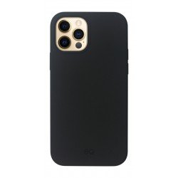 EQ Magsafe Silicone Case for iPhone 12 Pro Max - Black