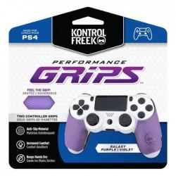 KontrolFreek Original Grip For PS4 Soft light Purple buy in xcite kuwait