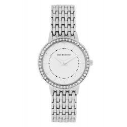ساعة جين بليكور كوارتز نسائي بعرض تناظري وحزام معدني - 32 ملم - REDS16