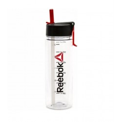 Reebok 650ml Water Bottle - Clear