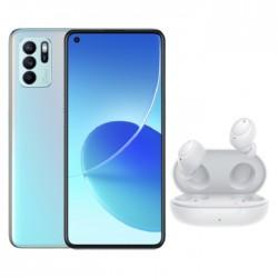 اطلب مسبقا: هاتف اوبو رينو 6 زي 5 جي بسعة 128 جيجابايت - أزرق