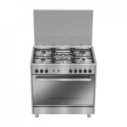 Candy 90x60CM Free Standing Gas Cooker (RGG95XLPG) in Kuwait | Buy Online – Xcite