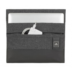 Riva 8803 Melange 13.3 inch MacBook Pro and Ultrabook Sleeve - Black