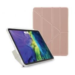 Pipetto iPad Air 4 10.9 inch Metalic Origami Case - Rosegold