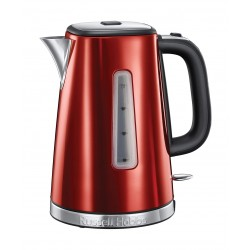 Russell Hobbs 1.7 L Luna Quiet Boil Electric Kettle (23210) - Red