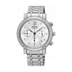 Seiko Watch 35mm Chronograph Quartz Ladies Metal Watch - RW837P