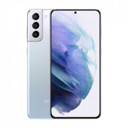 هاتف سامسونج جالاكسي اس 21 بلس (S21+) بسعة 128 جيجابايت وتقنية 5 جي - فضي