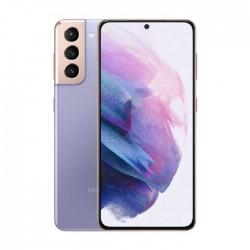 هاتف سامسونج جالاكسي اس 21 بلس (S21+) بسعة 128 جيجابايت وتقنية 5 جي - بنفسجي