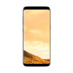 Samsung Galaxy S8 5.8-inch Smartphone, 64GB 12MP 4G LTE Dual Sim – Gold Front Facing