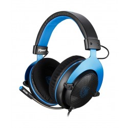 Sades Mpower Gaming Headset - Black/Blue 5