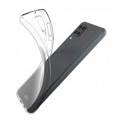 EQ Nake String Samsung Galaxy A12 5G Anti Bacterial Case - Clear