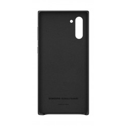 Samsung Galaxy Note10 Leather Cover - Black