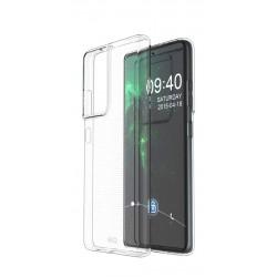 EQ Samsung Galaxy S21 Ultra TPU Antibacterial Case - Clear