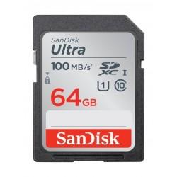 SanDisk 64GB Ultra SDHC UHS-I Memory Card - (SDSDUNR-064G-GN6IN)
