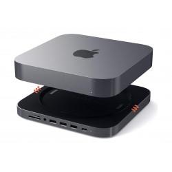Satechi Aluminum Stand Hub for Mac Mini - Space Grey