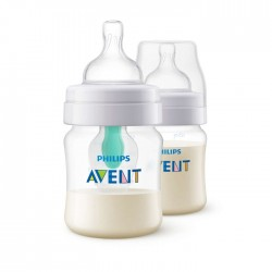 Philips Avent Anti-Colic With Airfree Vent Feeding Bottle 125ml - 2 Pcs