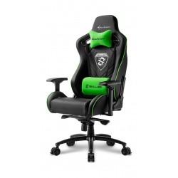 Sharkoon Skiller SGS4 Gaming Chair - Black/Green