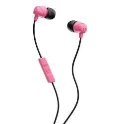 سماعة الأذن سكل كاندي السلكية مع ميكروفون مدمج (S2DUYK-630) - أسود/وردي
