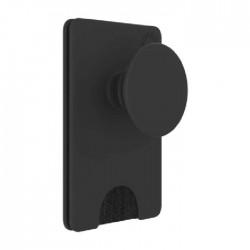 حامل البطاقات قابل للإزالة للهواتف الذكية من بوب واليت+  - أسود(801937)