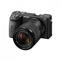 Sony Alpha A6600 Mirrorless Digital Camera with 18-135mm Lenses