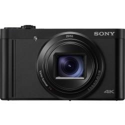 كاميرا سوني سايبر- شوت الرقمية بدقة ١٨,٢ ميجابكسل - أسود (DSC-WX800)