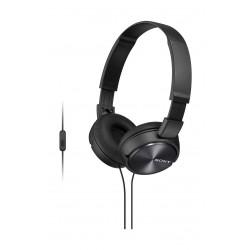 Sony Stereo Headphone (MDR-ZX310AP) - Black