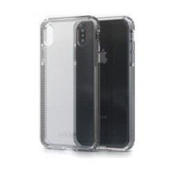 Soskild iPhone XS Max Defend Heavy Impact Case - Transparent & Tempered Glass Sp