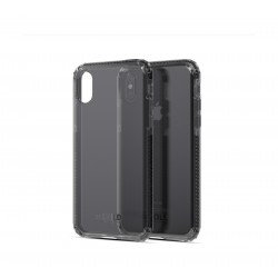 Soskild iPhone XS/X Defend Heavy Impact Case - Smokey Grey & Tempered Glass Sp