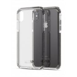 Soskild iPhone XS/X Defend Heavy Impact Case - Transparent & Tempered Glass Sp