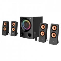 مكبر صوت ملتي ميديا بقوة 80 واط 4.1 قناة من اف اند دي (F7700X)