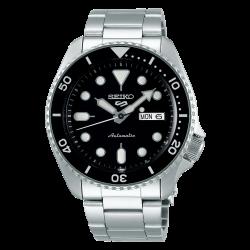 ساعة سيكو الميكانيكية للرجال بنظام عرض تناظري وسوار معدني - (RPD55K1)