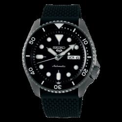 ساعة سيكو الميكانيكية للرجال بنظام عرض تناظري وسوار قماش - (RPD65K2)