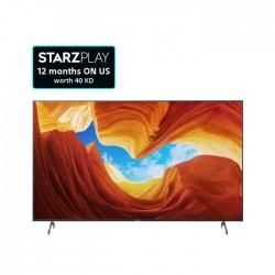 تلفزيون سوني سلسلة X80J أندرويد 4 كي ال اي دي بحجم 55 بوصة (KD-55X80J)