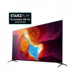 تلفزيون أندرويد 4 كي ال اي دي بحجم 55 بوصة من سوني   (KD-55X9500H)