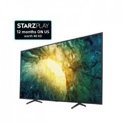 تلفزيون أندرويد 4 كي ال اي دي بحجم 55 بوصة من سوني   (KD-55X7500H)