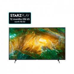 تلفزيون أندرويد 4 كي ال اي دي بحجم 65 بوصة من سوني  (KD-65X8000H)