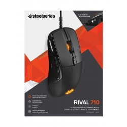SteelSeries Rival 710 Wired Gaming Mouse - Black