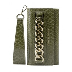 Ideal Of Sweden Studio Cloth iPhone 12 Pro Case - Green Snake