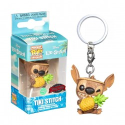 Funko Pop Keychain Lilo and Stitch Tiki Stitch