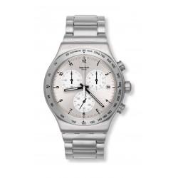 Swatch Irony Standard Gent's Chronograph Metal Watch (SWAYVS433G) - Silver
