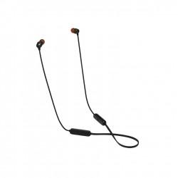 سماعة الاذن جي بي ال اللاسلكية مع زر تحكم (T115BT) -  أسود