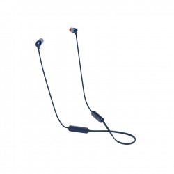 سماعة الاذن جي بي ال اللاسلكية مع زر تحكم (T115BT) -  أزرق