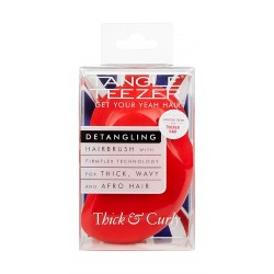Tangle Teezer Thick & Curly Salsa - Red