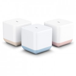 TCL Wifi router mesh hub white colorful 3 packs cube buy in xcite Kuwait