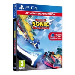 Team Sonic Racing Game 30th Anniversary Edition PS4